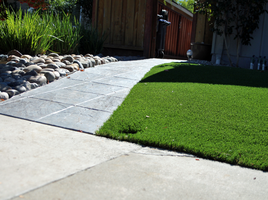 Fake Grass Carpet Lind Washington Landscape Design Small Front