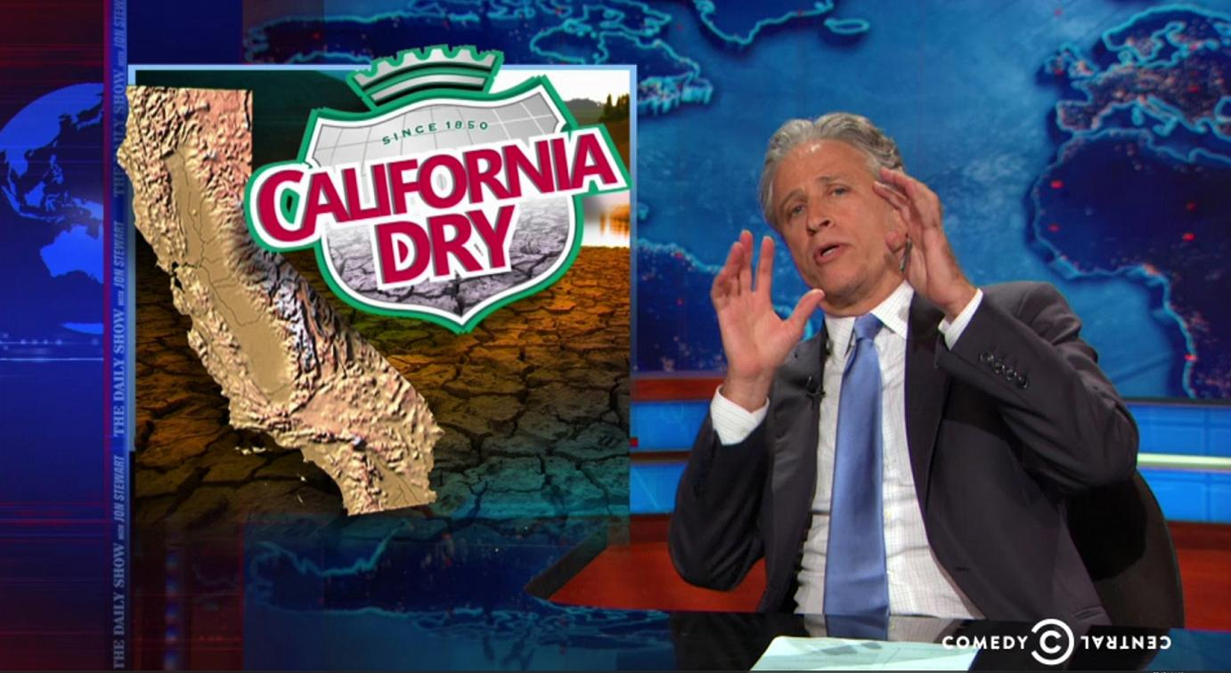 syntheticgrass Jon Stewart References California as a Jurassic World But This Time... BOOM! Everything Went Horribly Wrong.