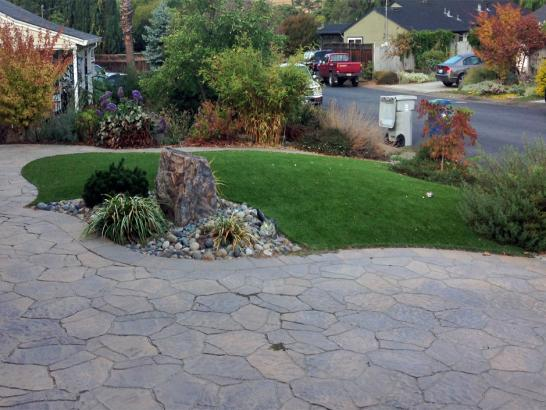 Artificial Grass Photos: Synthetic Turf Supplier Moclips, Washington Landscape Design, Front Yard Landscaping Ideas